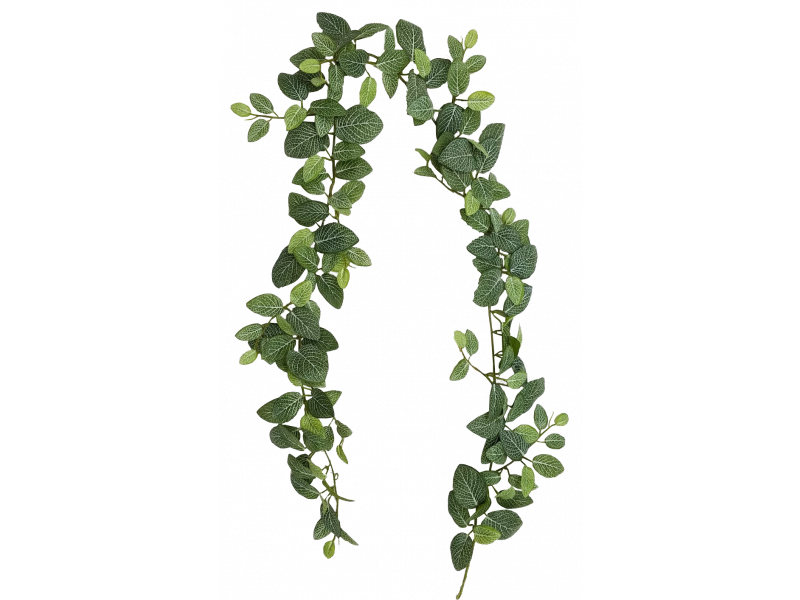 6ft Fittonia Leaf Garland Silk Wedding Bouquets