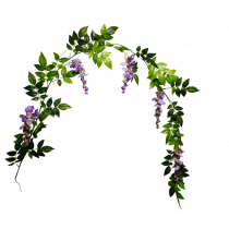 6ft Wisteria Garland