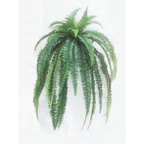 4ft hanging Fern bush  Artificial Greenery JMCFloral
