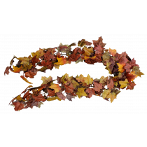 S2705Plm Maple Garland Autumn