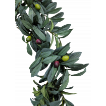 Olive Leaf and Berry Garland