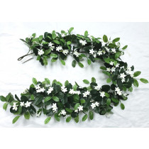 Stephanotis thick trailer garland 182cm S2763Grn Jasmine