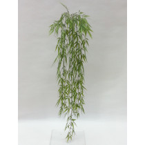 S2778Grn 104cm Hanging bamboo leaf x 8