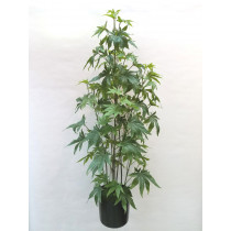 122cm Marijuana in Pot S2789Grn