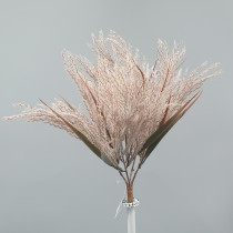 Light Brown Pampas Grass Bush S2858Nat