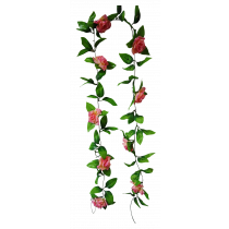 200cm  Rose Garland 9 Flowers