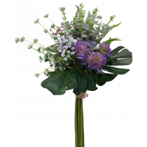 S3759Pur Large Native Bouquet Purple