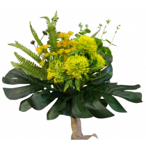S3759Yel Large Native Bouquet Yellow