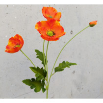 Poppy Spray 57cm