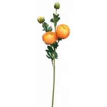 Orange Ranunculus Spray S3865Yel