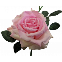S5714Pnk Pink Queen Rose Artificial