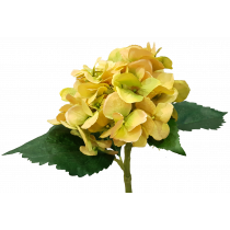 Yellow Hydrangea Artificial Flowers quality