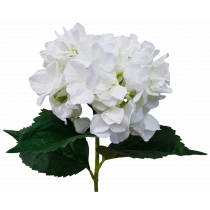 S5799Wht Long Stem White Hydrangea Silk Flower Wedding JMCFLORAL