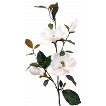 S5802Pnk Magnolia Spray Light Pink Artificial Magnolia JMCFloral