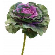 S6608DkPur Green and Purple Kale Artificial