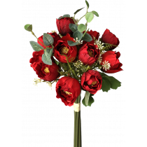 36cm Red Lily of the valley Bouquet 14 flowers S7528Rd