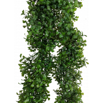 S8923Grn Boxwood Garland 9ft Greenery JMCFloral Artificial Quality