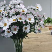 S98973PnkW Pink White Cosmos Spray by 3
