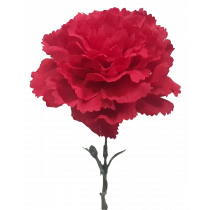 Red Carnation artificial Faux S9998Rd