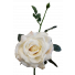 S5714Van Queen Rose Vanilla Artificial Short Stem Table Rose