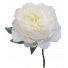 S5841Wht White Peony Faux Flower Artificial Quality Wedding