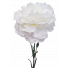 White Carnation artificial Faux S9998Wht